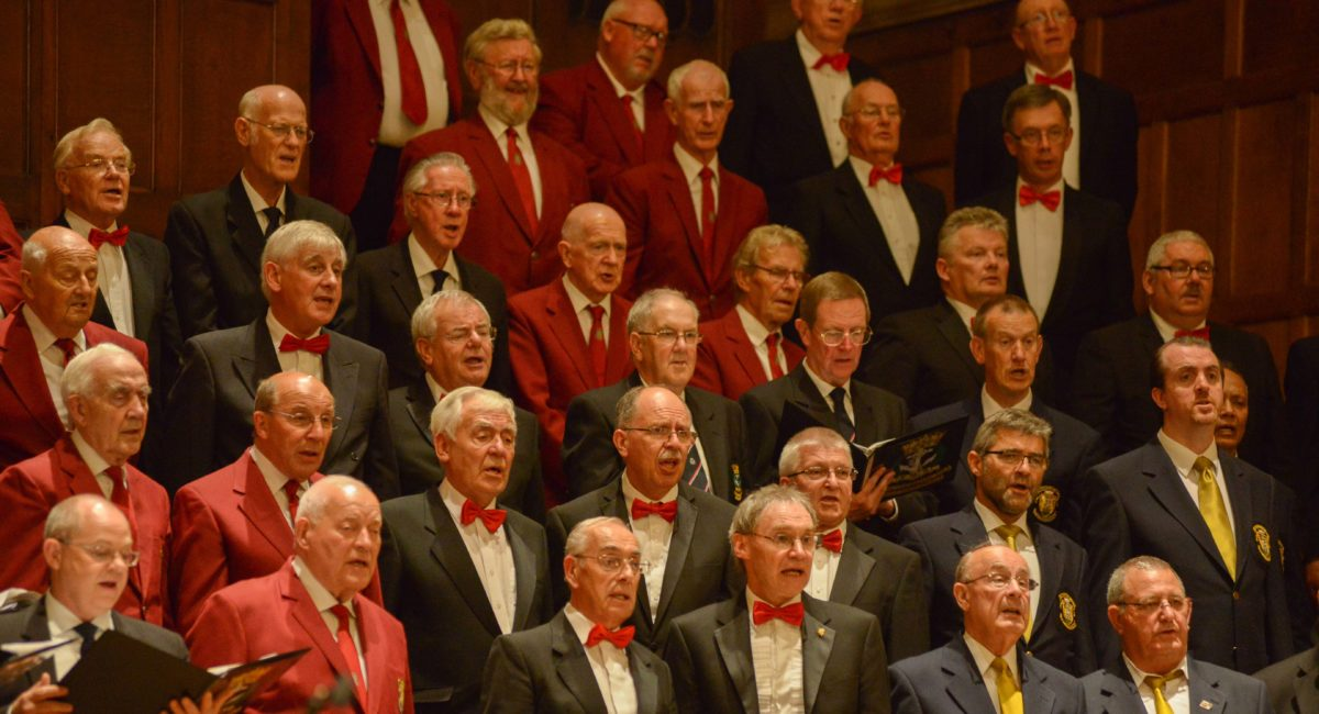 Magic of Male Voice – Rugby Temple Speech Rooms Saturday 27th October
