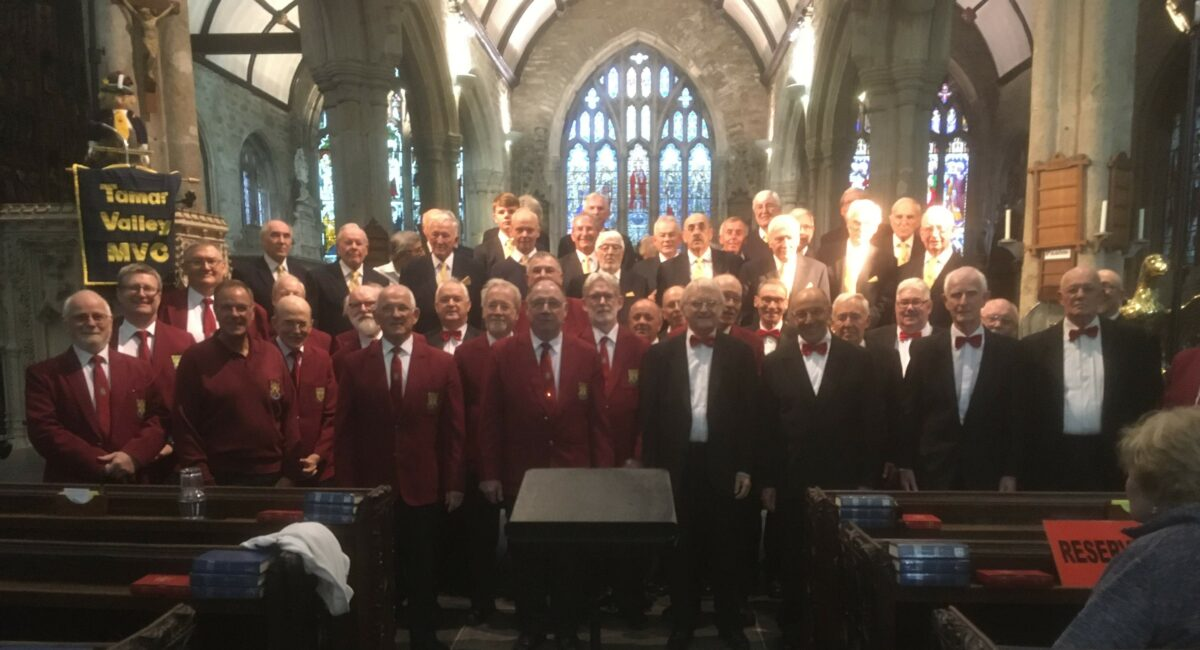 Rugby Male Voice Choir – on tour to Devon – October 2019
